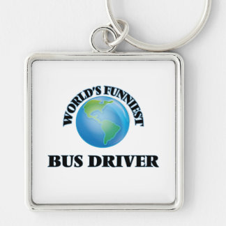 World's Funniest Bus Driver Key Chains
