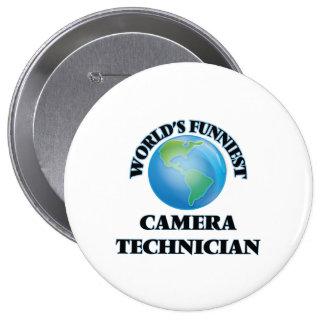 World's Funniest Camera Technician Pin