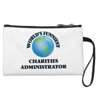 World's Funniest Charities Administrator Wristlet Purses