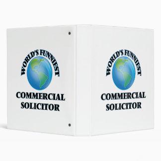 World's Funniest Commercial Solicitor Vinyl Binder