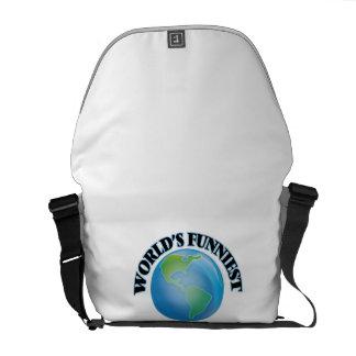 World's Funniest Company Secretary Messenger Bags