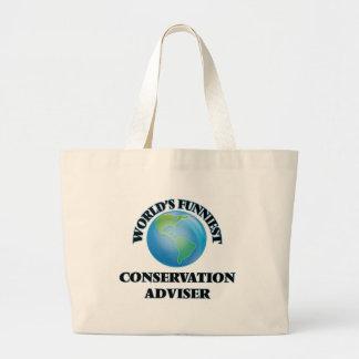 World's Funniest Conservation Adviser Bag