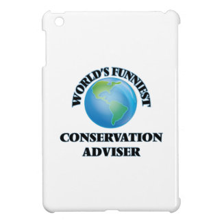 World's Funniest Conservation Adviser iPad Mini Cases