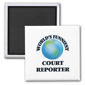 World's Funniest Court Reporter Magnets