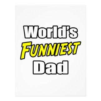 World's Funniest Dad Flyer