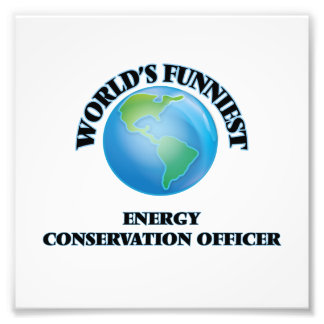 World's Funniest Energy Conservation Officer Photograph