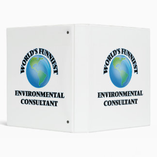 World's Funniest Environmental Consultant Binders