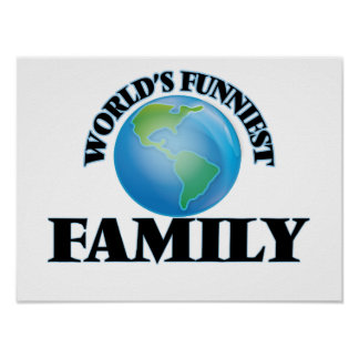 World's Funniest Family Poster