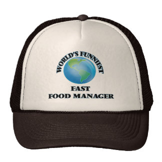 World's Funniest Fast Food Manager Hats