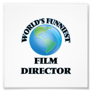 World's Funniest Film Director Art Photo