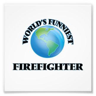 World's Funniest Firefighter Photograph