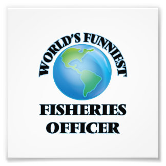 World's Funniest Fisheries Officer Photo