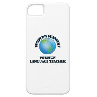 World's Funniest Foreign Language Teacher iPhone 5 Cases