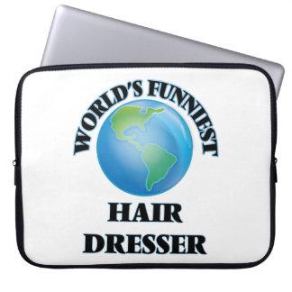 World's Funniest Hair Dresser Computer Sleeve