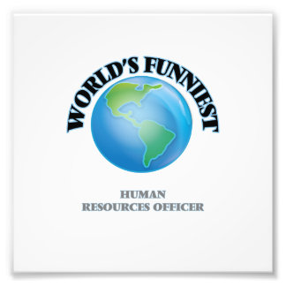 World's Funniest Human Resources Officer Photo