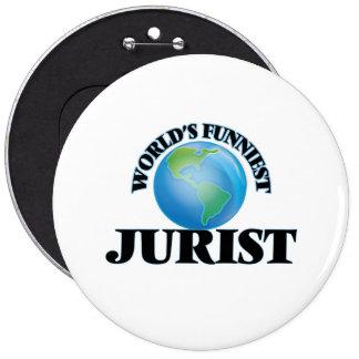 World's Funniest Jurist Pin
