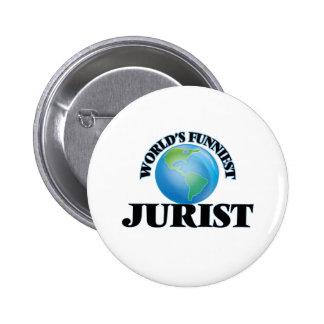 World's Funniest Jurist Pinback Button