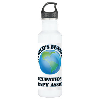World's Funniest Occupational Therapy Assistant 710 Ml Water Bottle