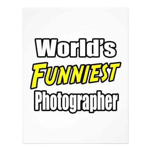 World's Funniest Photographer Flyers
