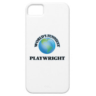 World's Funniest Playwright iPhone 5 Cases