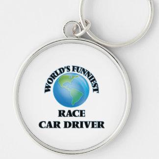 World's Funniest Race Car Driver Key Chains