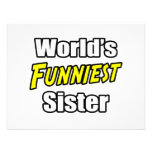 World's Funniest Sister Invites