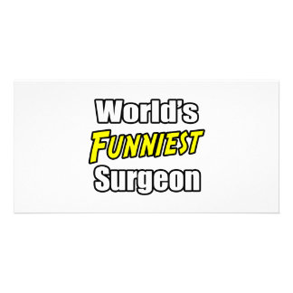 World's Funniest Surgeon Photo Card Template