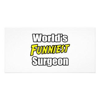 World's Funniest Surgeon Photo Card Template