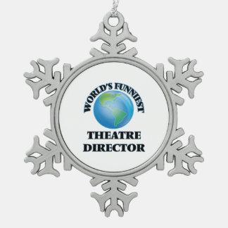 World's Funniest Theatre Director Ornament