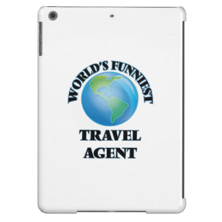 World's Funniest Travel Agent iPad Air Covers