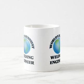 World's Funniest Welding Engineer Basic White Mug