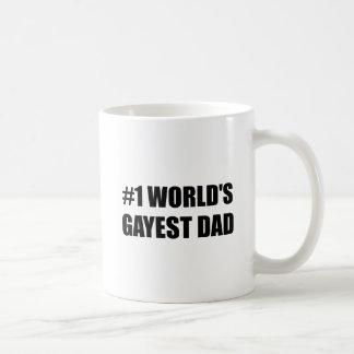 Worlds Gayest Dad Coffee Mug
