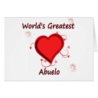 World's Greatest abuelo Card