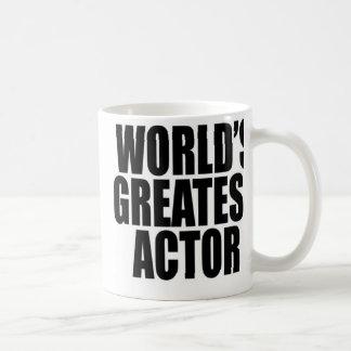 World's Greatest  Actor Coffee Mug
