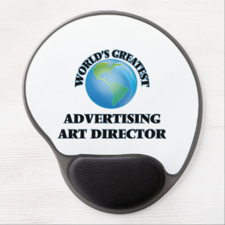 World's Greatest Advertising Art Director Gel Mouse Pad