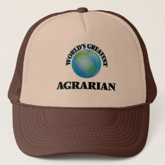 World's Greatest Agrarian Trucker Hat