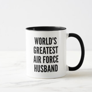 Worlds Greatest Air Force Husband Mug