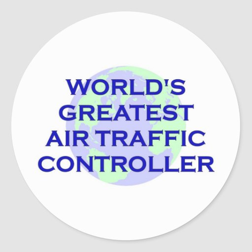World's Greatest Ait Traffic Controller Sticker