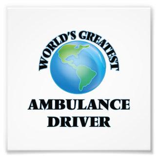 World's Greatest Ambulance Driver Photo Print