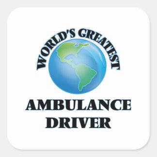 World's Greatest Ambulance Driver Sticker