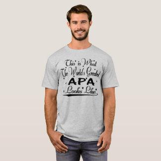 World's Greatest Apa... T-Shirt