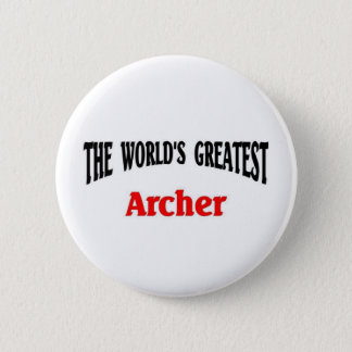 World's Greatest Archer 2 Inch Round Button