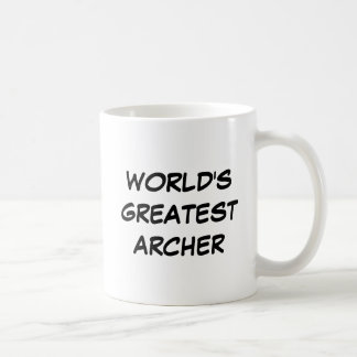 """World's Greatest Archer"" Mug"