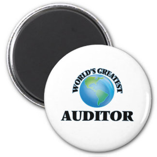 World's Greatest Auditor Magnets