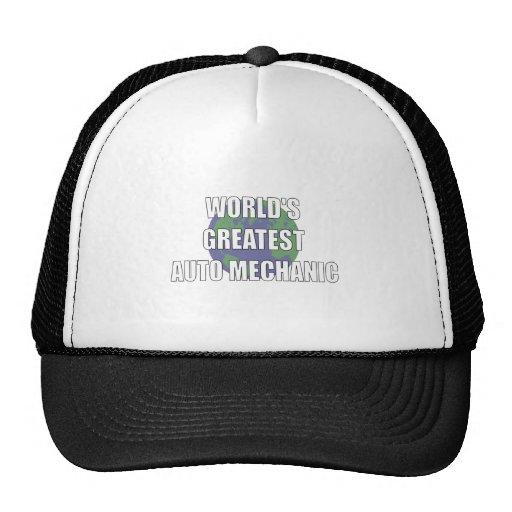 WOrld's Greatest Auto Mechanic Mesh Hat