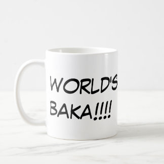 World's Greatest Baka Mug