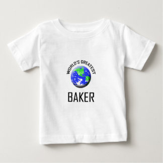 World's Greatest Baker Baby T-Shirt