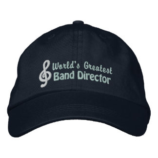 World's Greatest Band Director Embroidered Hat