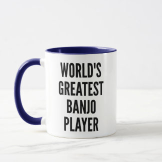 Worlds Greatest Banjo Player Mug