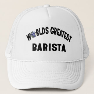 Worlds Greatest Barista Trucker Hat